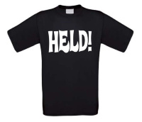 Held t-shirt koirte mouw