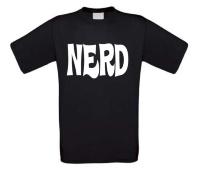 Nerd t-shirt korte mouw