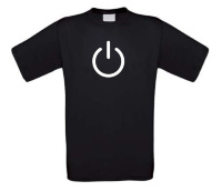 power t-shirt korte mouw design
