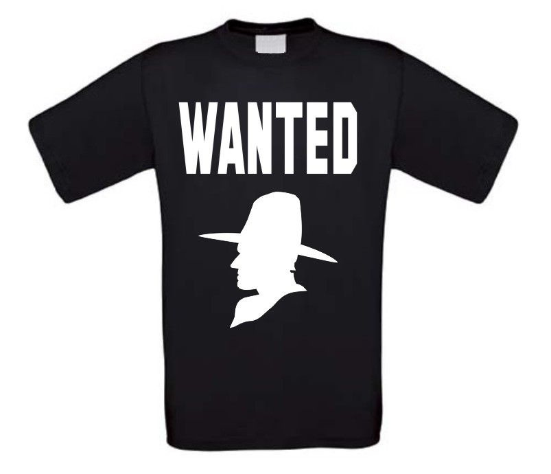wanted t-shirt korte mouw