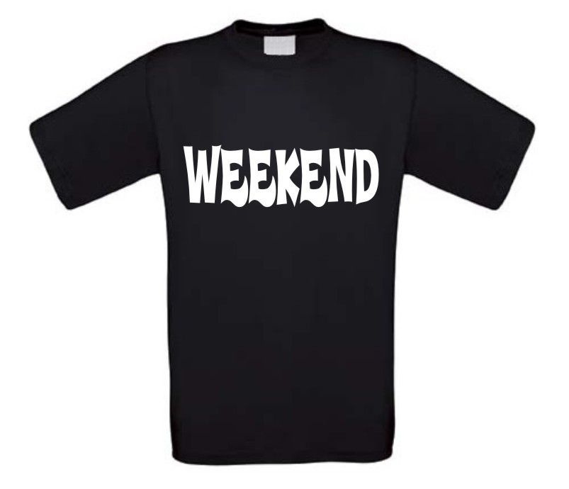 weekend t-shirt korte mouw