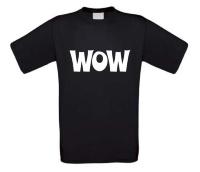 Wow t-shirt korte mouw