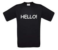 Hello t-shirt korte mouw