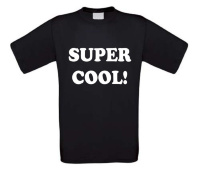 super cool t-shirt korte mouw