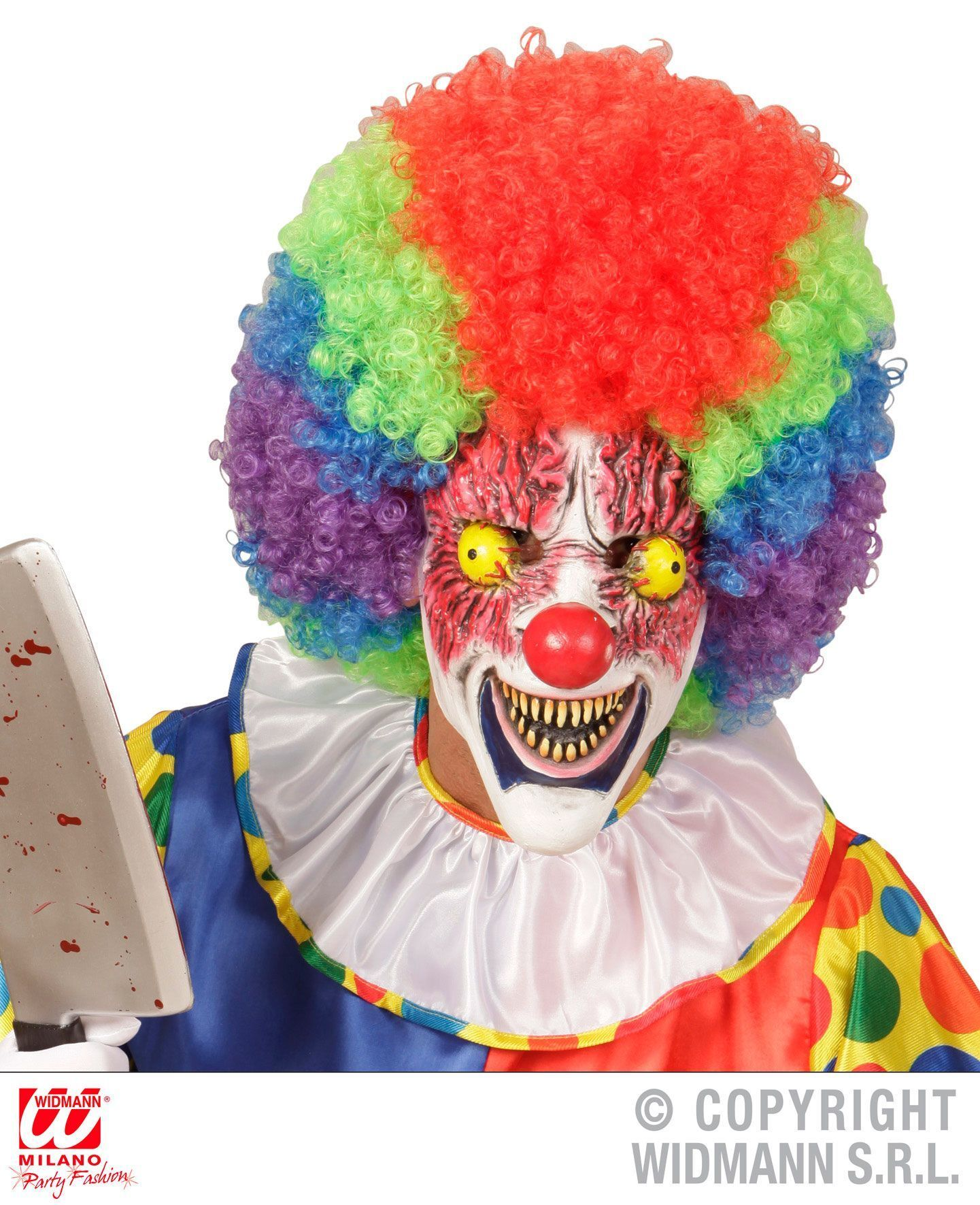Masker horror clown angstaanjagend