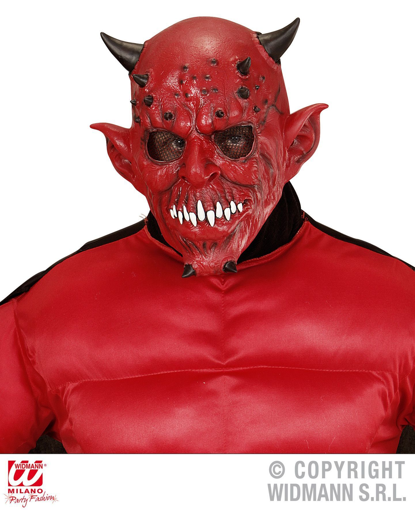 Rood duivels masker scary