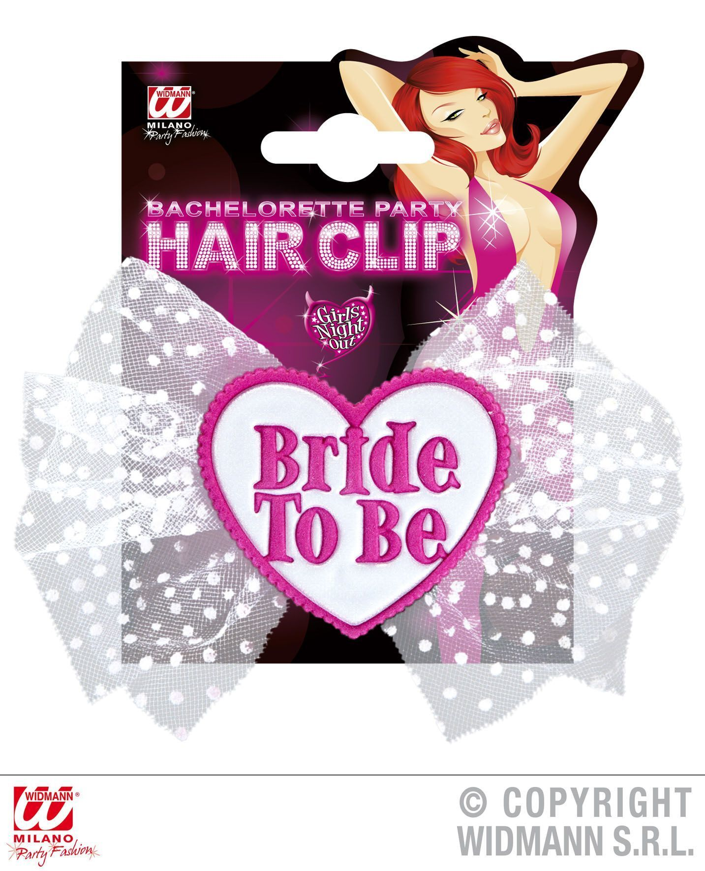 hairclip bride to be