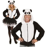Panda vest pandabeer hoodie kostuum