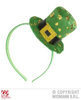 st patricks dag mini hoed