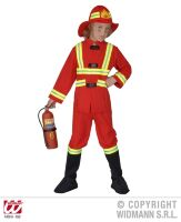 Brandweer pak brandweerman kostuum kind deluxe