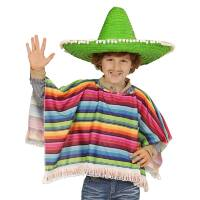 mexicaanse poncho gringo kind