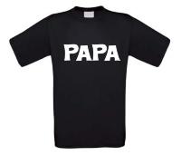 Papa t-shirt korte mouw