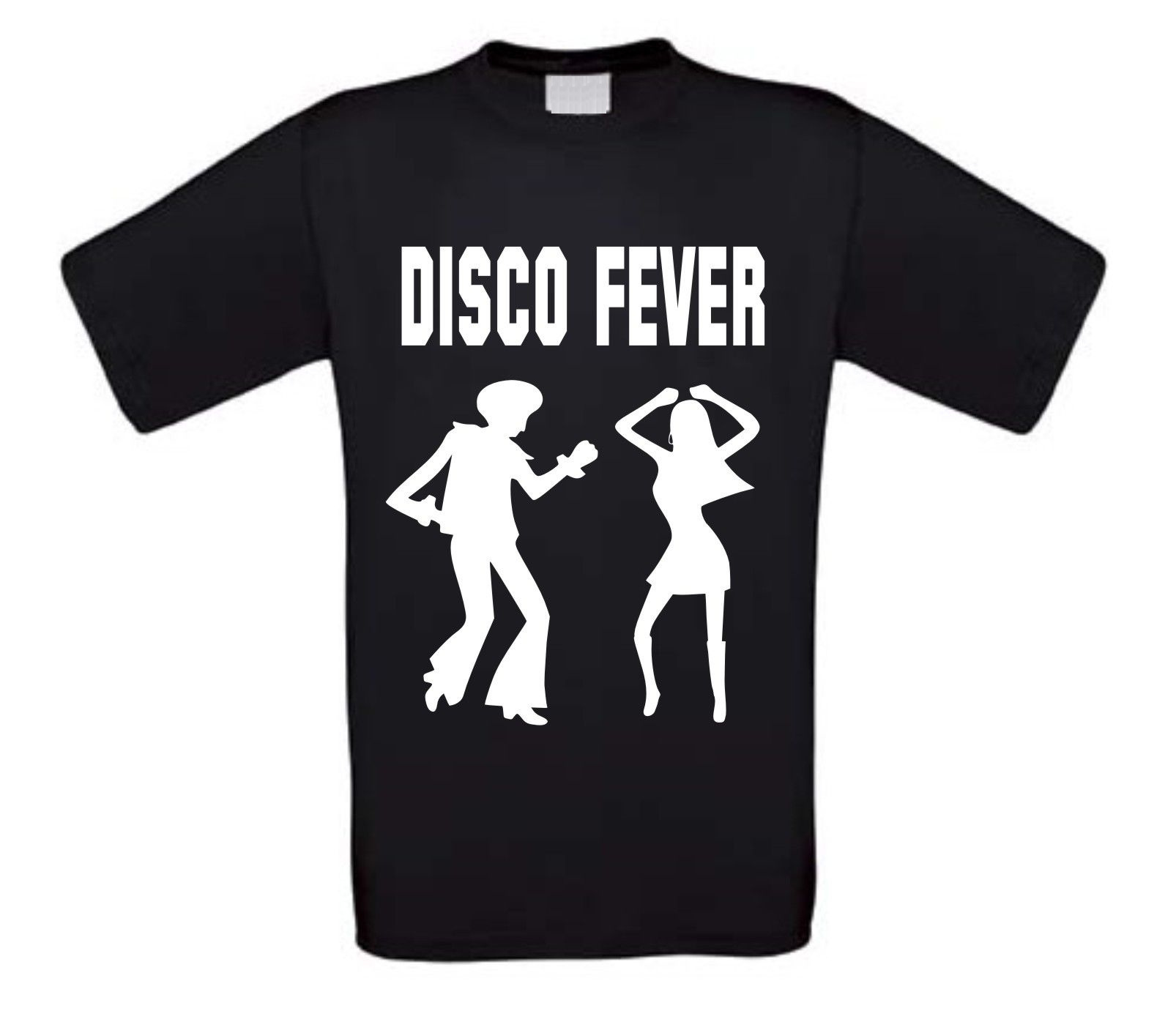 disco fever t-shirt korte mouw