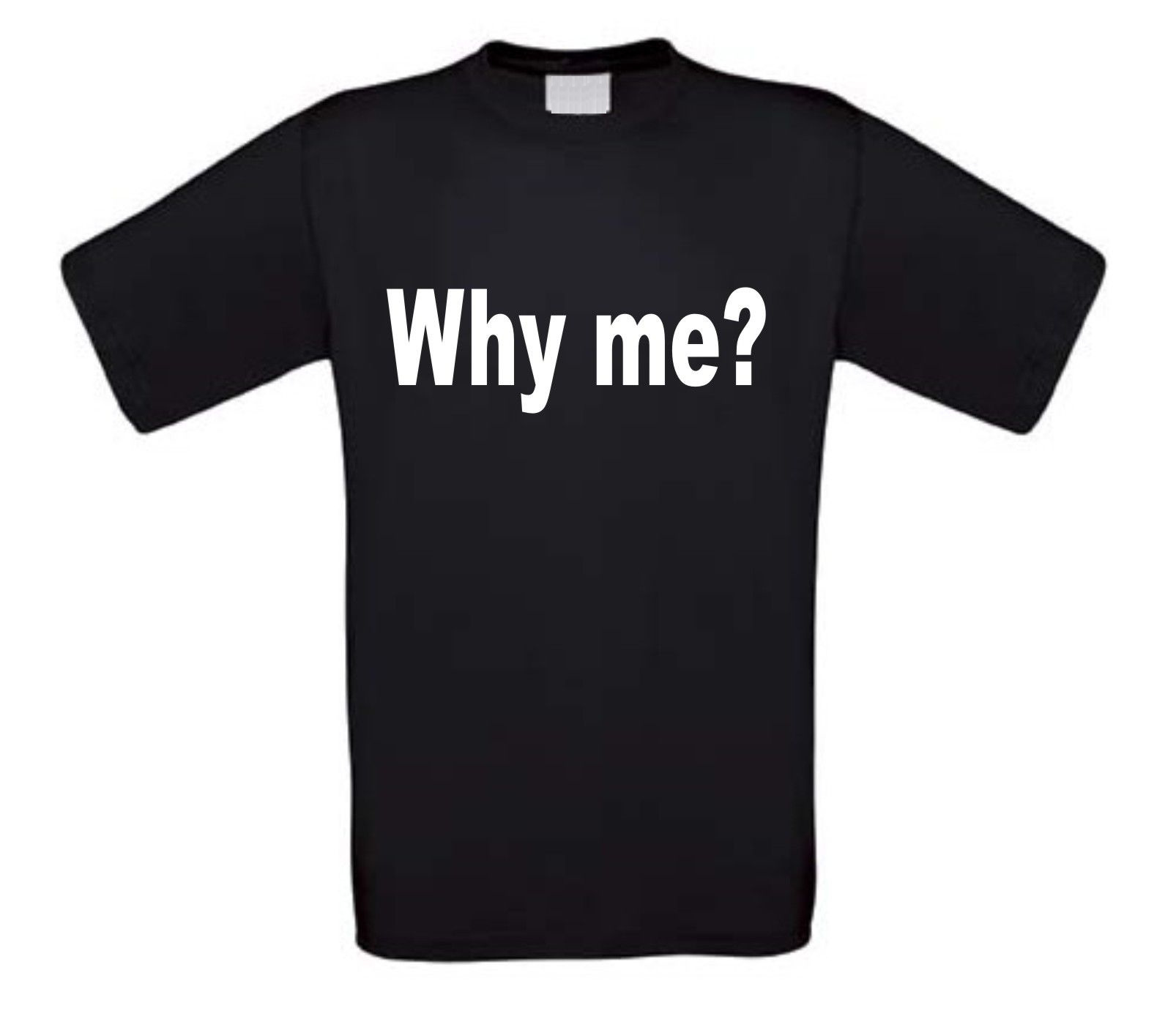why me t-shirt korte mouw