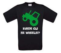 Kunde gij ne wheelie tractor t-shirt korte mouw