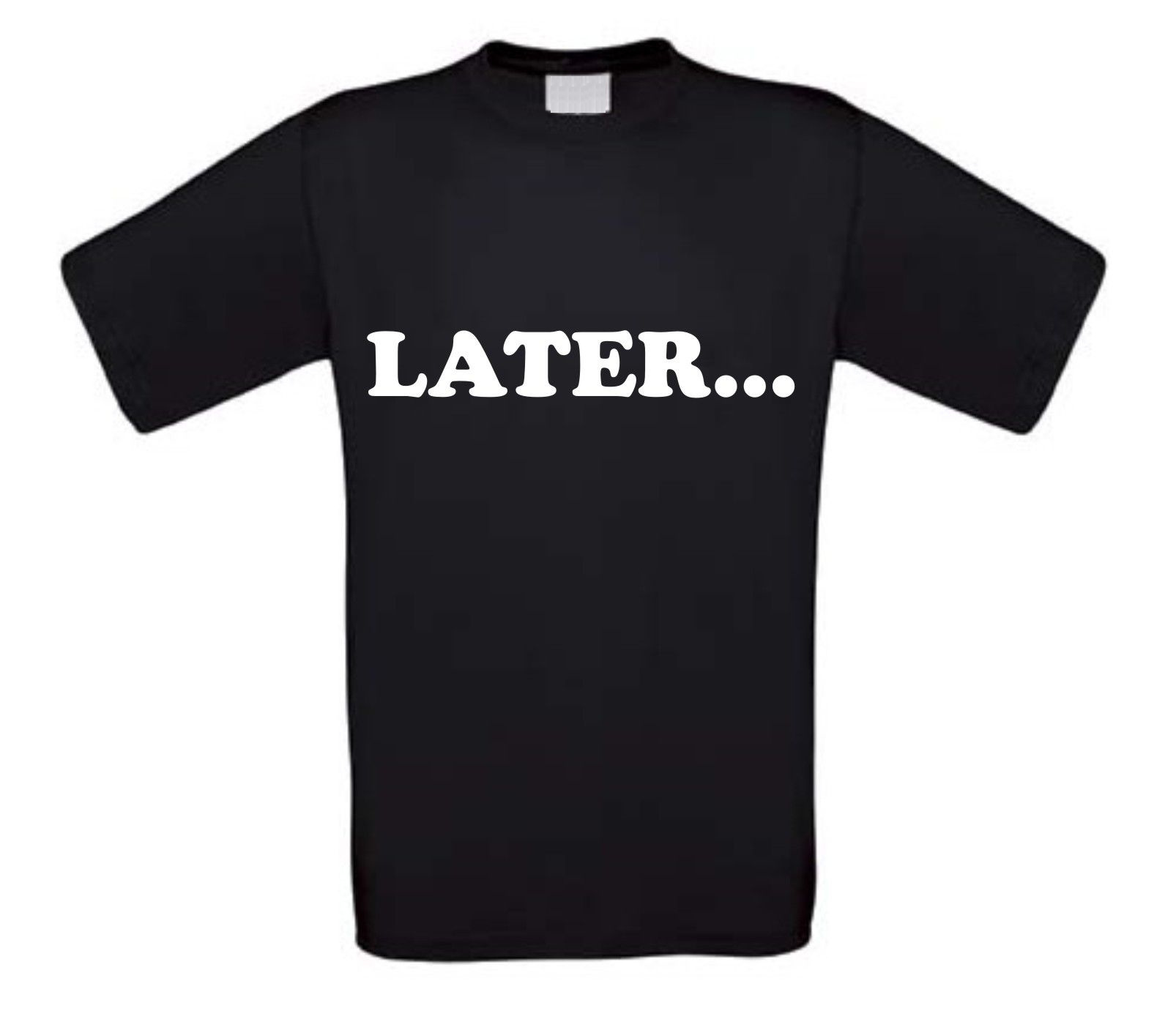 later t-shirt korte mouw