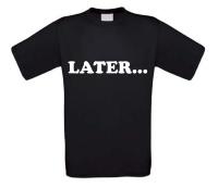 Later t-shirt korte mouw