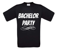bachelor party t-shirt korte mouw