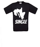 single stripper vrijgezel t-shirt korte mouw