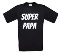 Super papa t-shirt vaderdag