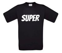 super t-shirt korte mouw