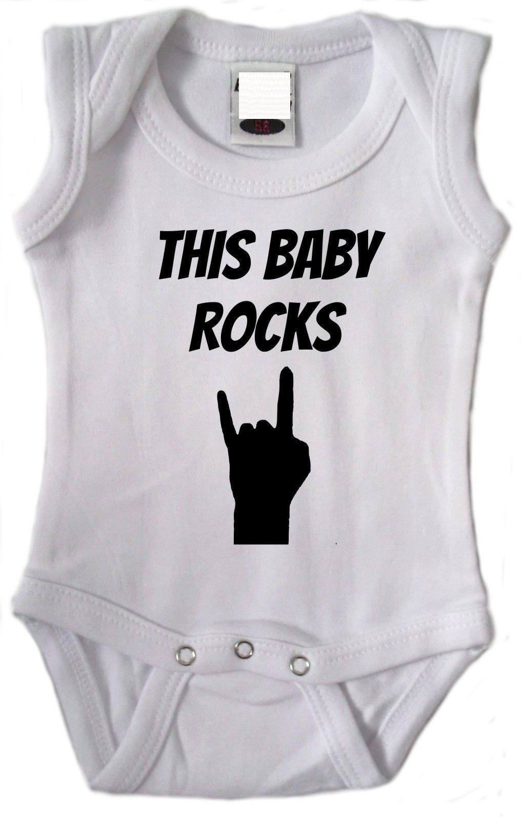 this baby rocks romper