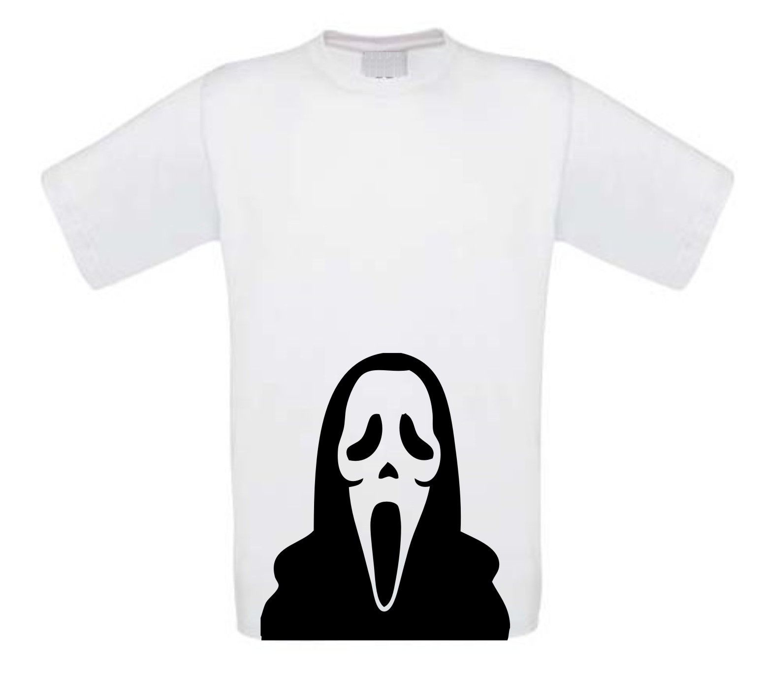 scream halloween t-shirt korte mouw