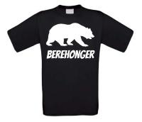 Berehonger t-shirt korte mouw beren honger