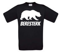 Beresterk t-shirt korte mouw beren sterk