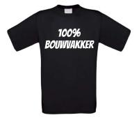 100 procent bouwvakker t-shirt korte mouw