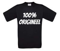 100 procent origineel t-shirt korte mouw