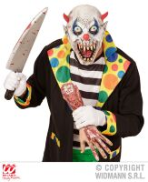 horror clown kinder masker