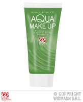 Aqua make up  in tube 30ml  groen