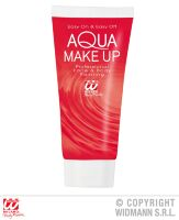 Aqua make up  in tube 30ml  rood