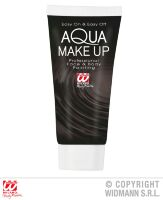 Aqua make up  in tube 30ml  zwart