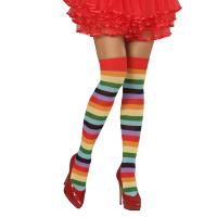Alle kleuren van de regenboog sokken