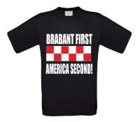 brabant first america second t-shirt korte mouw