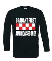 brabant first america second t-shirt lange mouw