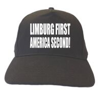 Limburg first america second pet cap