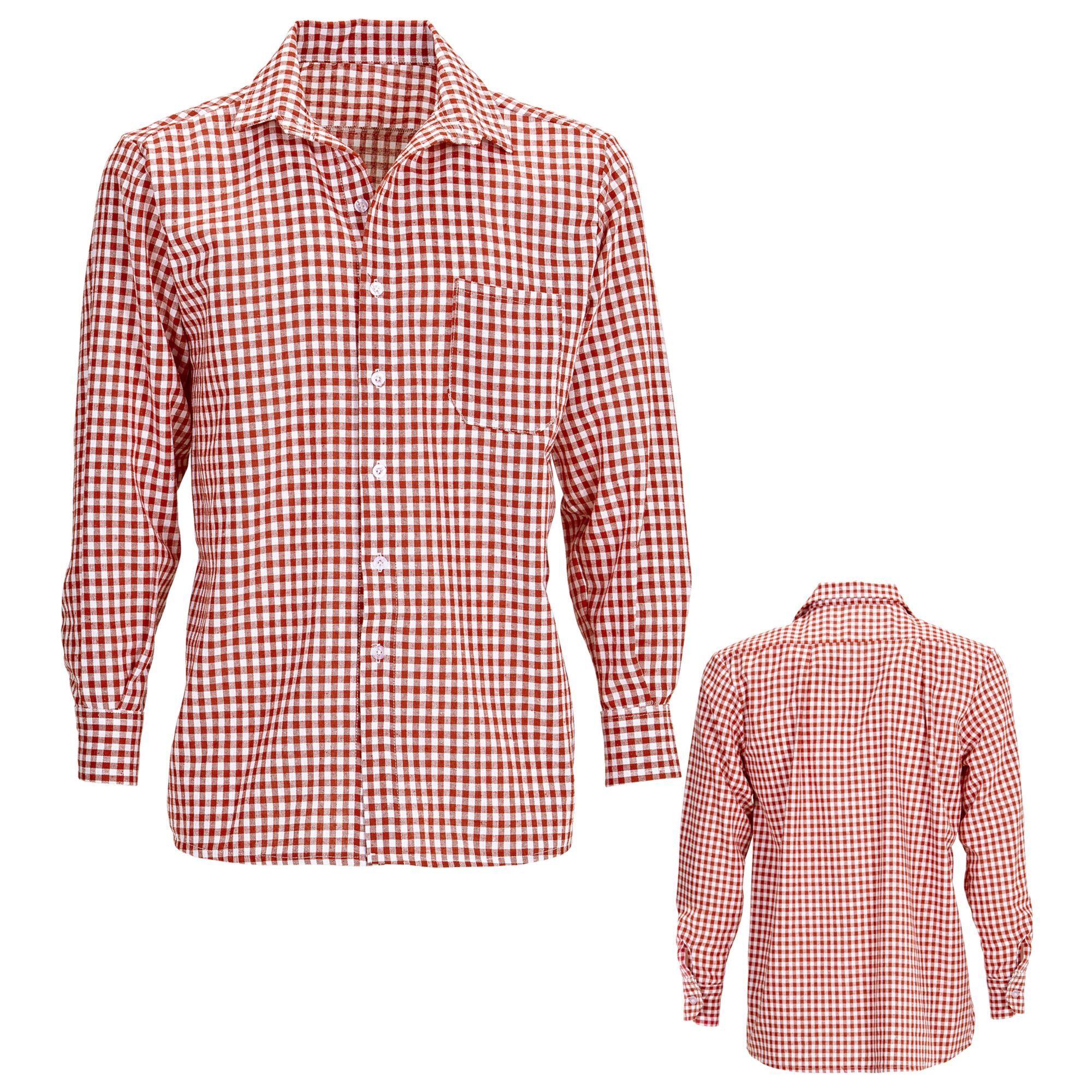 blouse geblokt