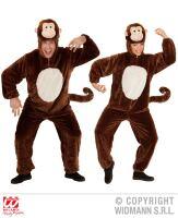 Apen kostuum plushe volwassen apenpak