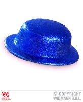 Showtime glitter bolhoed blauw