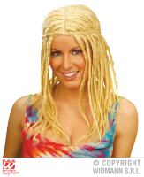 Dreadlocks pruik blond rasta