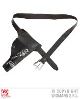 Cowboy holster kind zwart
