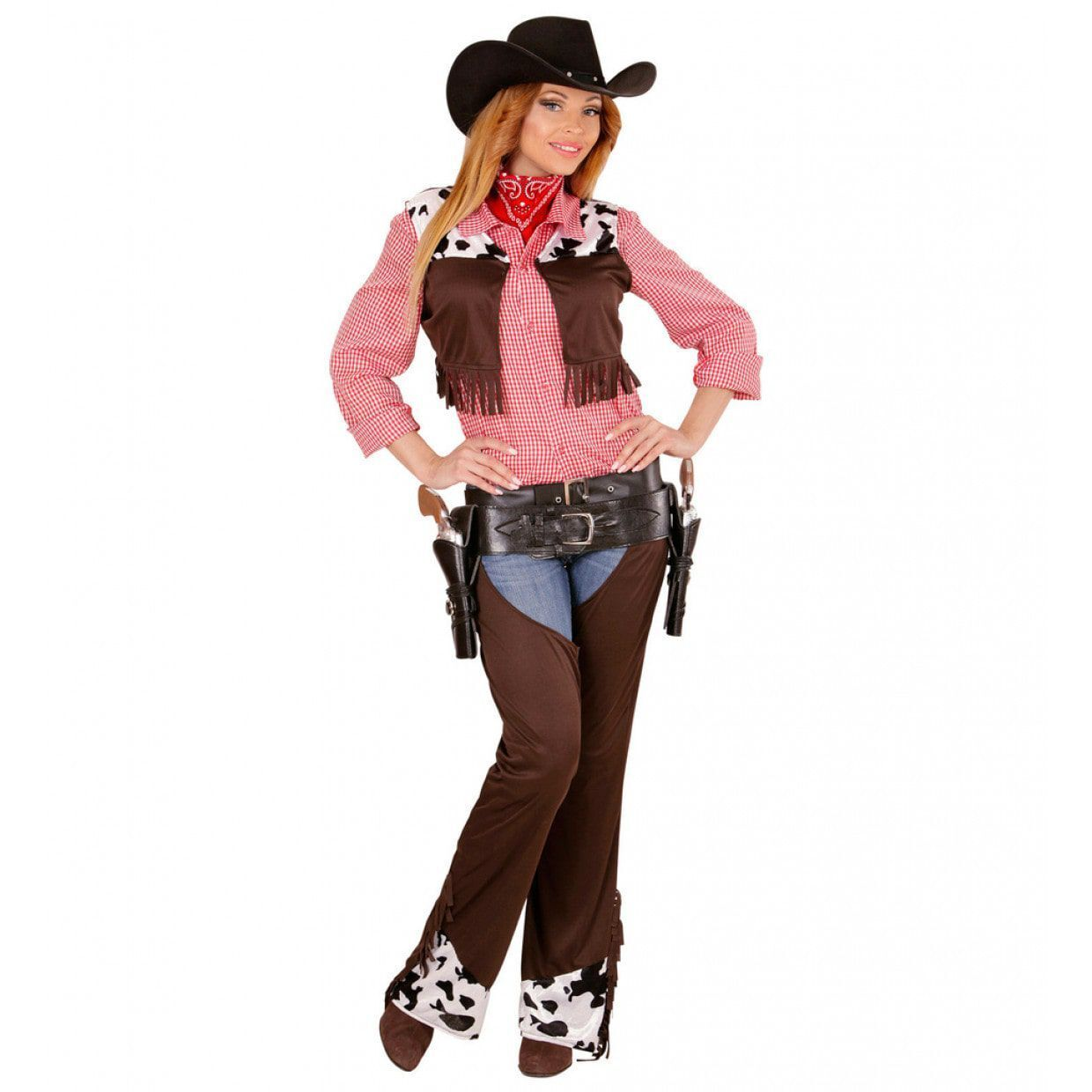 Cowgirl western dames outfit