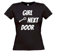 girl next door t-shirt