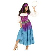 Luxe zigeunerin jurk dame