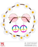 Hippie set flower power