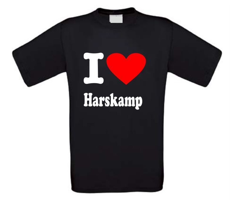 I love Harskamp t-shirt