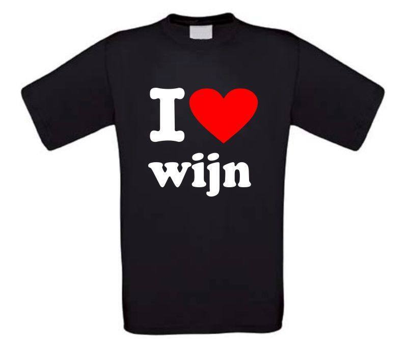 I love wijn t-shirt